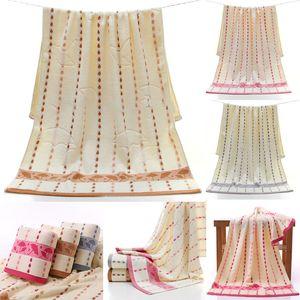 Cotton Bath Towel Bamboo Fiber Raindrop Small umbrella soft gift towel Thicken Water absorption Face towel Textiles DHL HH7-2055