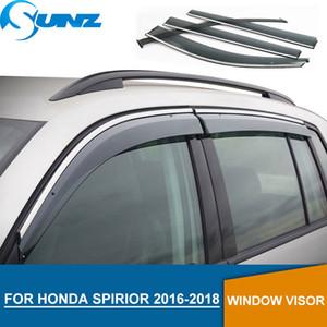 Pare-brise pour Honda SPIRIOR 2016-2018 Pare-pluie de pare-pluie de déflecteurs de vitres latérales pour Honda SPIRIOR 2016 2017 2018 SUNZ