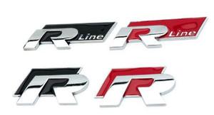 المعادن r- خط R-GT r شعار شعار شارة ملصقات السيارات الدراجات النارية اكسسوارات التصميم شارة ملصقات ل هود المركزي التسمية