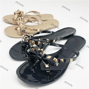 Дизайнерские шпильки сандалии для женщин желе сандалии для женщин дизайнерские слайды камни желе сандалии для женщин заклепки дизайнерские шлепанцы