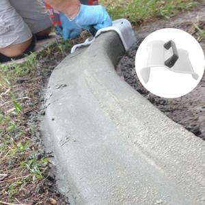 Bordes de plástico en yeso paletas de herramientas de construcción de hormigón de mampostería Mano Paleta