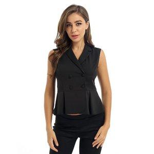 Casual Gilet costume d'été Femmes Veste élégante Manteaux Femme veste courte dames Slim Fit affaires Veste Gilet