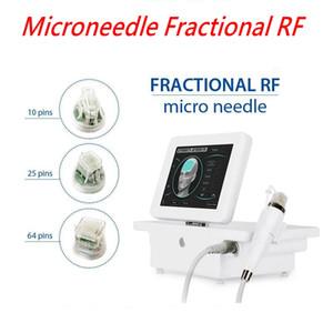 새로운 디자인 4 팁 분수 기계 microneedle 분수 RF 마이크로 바늘 분수 RF 피부 관리 아름다움 기계 미국 / EU / UK / AU / 플러그