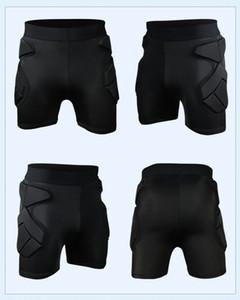 Männer Sport-Fußball-Torhüter Fußball Rugby Shorts Sponge Verteidigen Ventilate Schutz Gears mit Hips Pads