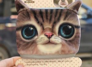 Komik Karikatür Köpek Kedi Koruyucu Maske Unisex Yetişkin Çocuk toza Pamuk Windproof Yüz Isıtıcı Maske Maske
