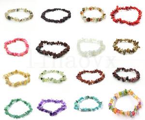 Bracelet sténité de sodalite cristal naturel de cristaux de sodalite de cristaux de sodalite naturel mélangé de pierres précieuses chakra bracelet bracelets de bracelets DC442