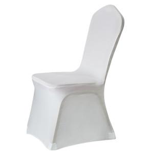 Stretch Spandex Couvre Chaise À Manger Chaise Couvre Lycra Polyester Tissu Banquet Parti Hôtel De Mariage Décoration