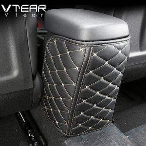 accessori Vtear Per Kona 2018 2019 sede Encino bracciolo dell'automobile anti-calcio in pelle pad mat Custodia protettiva auto Anti-dirty