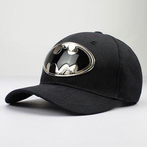 2018 기하학적 배트맨 금속면 아크릴 CASQUETTE 야구 모자는 조절 스냅 백 모자 모자 남성 및 WO 모자, 스카프, 장갑 모자