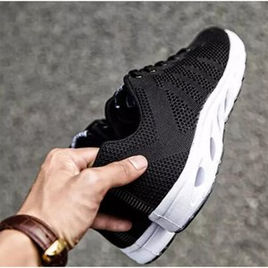 with free socks HOT luxury fashion black men casual shoes Designer sports sneaker Breathable Jogging running shoes size 36-46