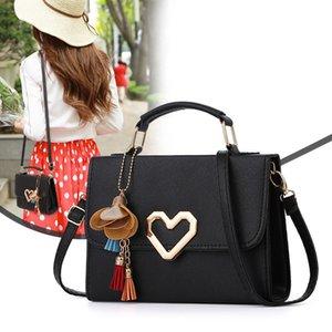 women shoulder bags 2020 summer new korean version of the messenger bag handbag chain wild crack solid cute shoulder bag
