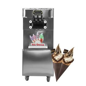 Kolice ETL CE caliente de la venta comercial Taylor 3 sabores suave de hielo máquina de crema de yogur helado suave máquina de helados con refrigerante completa