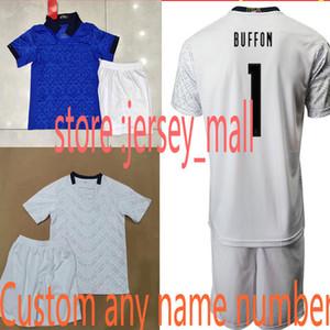 Children's 20 21 ITALY home away soccer Jerseys shirt shorts kit 2021 national team Italy BONUCCI IMMOBILE INSIGNE Football jersey shirt