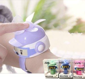 5V 800mAh ricarica USB tre ingranaggi di orologi da polso bambino regolazione mini ventilatore elettrico 9pieces portatili tre colori 20x5cm