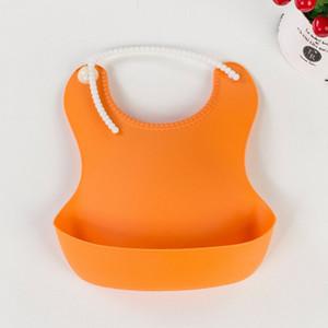 Bebekler Bebek Önlüğü Plastik Önlüğü Su geçirmez Bibs Karşıtı Kir Bibs EEA1321-1 İçin Yeni Desen Dayanıklı Makaleler