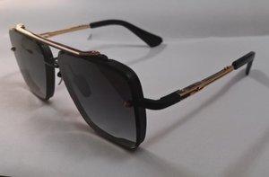 Nouveau style de mode lunettes de soleil de haute qualité des femmes de six hommes de hommes protège les yeux Gafas de sol lunettes de soleil avec la boîte