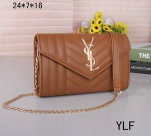Designer-Hot borsa a tracolla borse delle donne di lusso crossbody catena borse famosa borsa di qualità sacchetto del messaggio tote tasca ragazza size24x