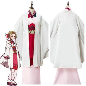 하나코 군 코스프레 Yako 코스프레 의상 기모노 드레스 성인 여성 할로윈 의상 바운드 애니메이션 화장실