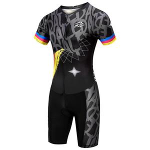 Koşu Yüzme Jersey Kısa Kollu Bisiklet Kazağı Gömlek takım elbise bisiklet Yaz Yarış Bisiklet Giyim Erkekler Triatlon