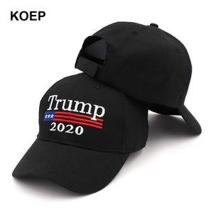 New Hat 2020 Atacado Donald Keep America Grande Trump Camo Maga Chapéus baratos ajustável Boné de beisebol 11OMSF