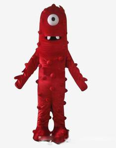 2020 nouvelle haute qualité Muno mascotte Costume De Yo Gabba Gabba