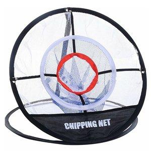 Golf UP Intérieur Extérieur Chipping Pitching Cages Tapis pratique Easy Net Entrainement au golf Métal + Net