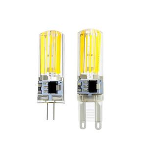 G9 2809 COB لمبة LED AC 220V الذرة مصباح LED أضواء استبدال الهالوجين ضوء الثريا 10PCS