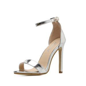 2019 silver color top fashion brown Platform Pump Shoes Women Peep Toe High Heel Shoes Woman Party Wedding Shoe High Heels Pumps Y200702