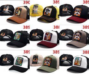 2019 yaz yeni erkek kadın nefes şapka tavşan dragon ball desen beyzbol şapkası açık spor eğlence gorras tasarımcılar şapka kemik casquette