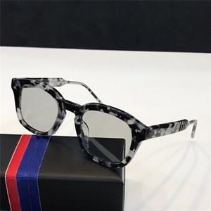 Diseñador popular que vende gafas de sol Tendencia retro Cultura de la calle Gafas para hombres mujeres Gafas casuales simples Lente transparente Protección UV400