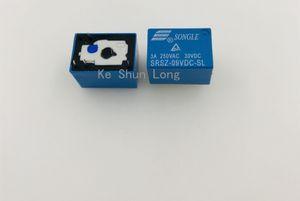 무료 배송 (10 개 / 많이) 신품 SONGLE SRSZ-05VDC-SL SRSZ-09VDC-SL SRSZ-12VDC-SL SRSZ-24VDC-SL 5PINS 5A 5V 9V 12V 24V Signal Relay