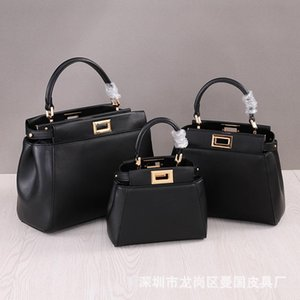 Luxurious2019 Mini chaton en cuir véritable femme paquet unique épaule Satchel Petit sac mariée
