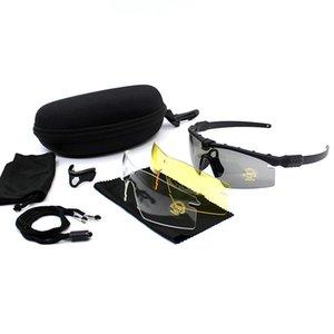 Specialized militare Sparare Occhiali anti-effetto Paintball Army Tactical Goggles Sport esterni CS gioco di guerra airsoft Eyewears Outdoor Eyewea