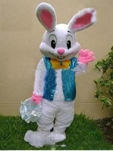 Hızlı kargo yeni sıcak kek gibi satmak MESLEKI KOLAY BUNNY MASCOT KOSTÜM Tavşan Tavşan Yetişkin