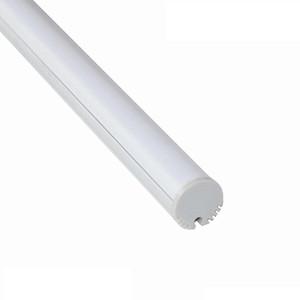 profilo alluminio led per profilo di nastro 12 millimetri diam tubo 15 millimetri lineare luce ralla parete mezza tipo coperchio tondo CRESTECH