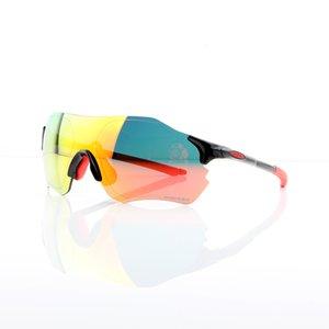 Los hombres polarizados de las gafas de sol de ciclo OO9313 EV Cero Moda Gafas de sol deportivas para bicicleta de montaña Golf Pesca Correr Senderismo, 100% UV400