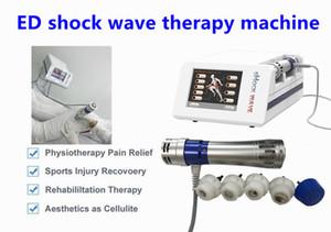 Fisioterapia Wave Wave Machine ESWT Radial Shock Wave Apparecchiatura per fisioterapia Per il trattamento Ed dimagrimento riduzione della cellulite