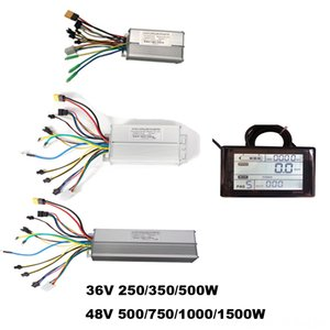 Ebike dual mode controller 36V 250350500W 48V 50075010001500W electric bike controller and SW900 LCD display