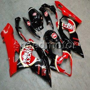 Винты+подарки инъекции плесень красный мотоцикл капот обтекатель для Suzuki GSX-R 1000 05 06 GSXR1000 2005 2006 K5 ABS пластиковый комплект