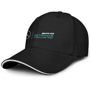 Mode-Damen Herren gewaschene Kappe Plain Adjustable Mercedes AMG petrons Logo PunkCotton-Hut-Sommer-Hüte Military Caps Bucket Hat
