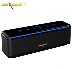 Zealot S7 Portátil Bluetooth altavoz Potente HiFi Subwoofer Sistema de cine en casa Altavoces inalámbricos, Power Bank Support TF Tarjeta 8000 MAH