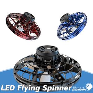 Pronto para enviar FlyNova voando brinquedo melhor preço portátil rotação de 360 ° Spinning estresse de liberação Natal caçoa brinquedos de presente