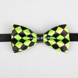 PU print baby bowtie pattern boys butterfly bow tie kids gift striped ties dotted for children necktie
