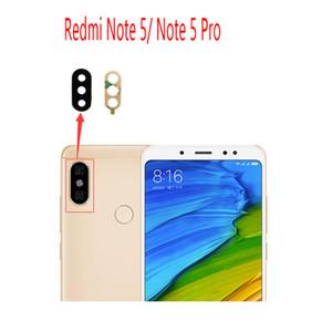 Couverture arrière en verre de lentille de caméra arrière de rechange avec de la colle autocollante pour Xiaomi Redmi Note 5 / Note 5 Pro