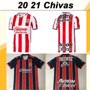 2019 Chivas de Guadalajara Jersey di calcio A. PULIDO LOPEZ casa lontano 3rd Camicie maniche corte calcio Camisetas Uniformi de fútbol manica