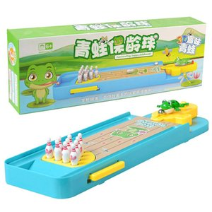 Мини Боулинг игры Детские Смешные Родитель-Ребенок Интерактивная Дети Игрушки Таблица Столешница Настольные игры Развивающие игрушки для детей Подарки