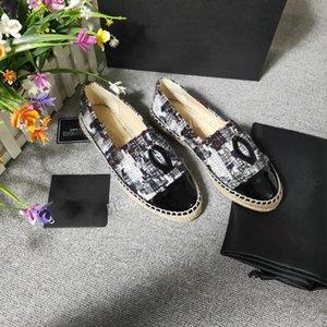 Louis Vuitton LV shoes Sıcak Tasarımcı Marka Kadınlar Espadrilles Üst Kalite Tide Kadınlar Düz Ayakkabı Moda Rahat rahat makosenler yfx191212 canvans