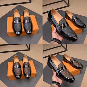 2020 Neue Ankunft des Frühlingsommers Komfortable Echtes Leder Schuhe Leinwandschuhe Männer Set Fuß Die Modemarken Kleid Schuhe