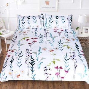 BEST.WENSD d42 Quality Super soft Unicorn Bedding Cartoon Duvet Cover set 3D Dinosaur World bed set 2 3pcs Twin kids bedding