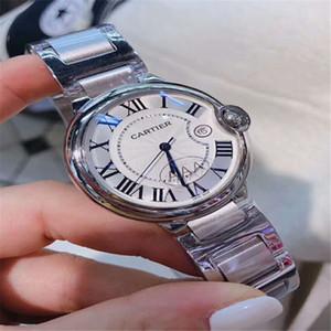 Все новые циферблаты рабочего секундомера мужские и женские наручные часы класса люкс с календарем 316 стальной ремешок топ марки кварцевые часы пара высокого качества